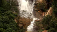 Waterfall in Nuwara Eliya. video