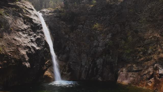 Waterfall in Seoraksan National Park, South Korea video