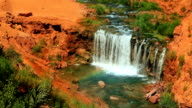 Waterfall in the Desert video