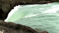 Waterfall in Torres del Paine National Park, Chile. video