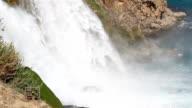 Waterfall into Sea video