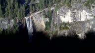 Waterfall into Shadow, Vernal Falls, Yosemite National Park video