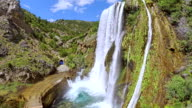 Waterfall Krcic in Knin video