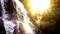 Waterfall Pan Down video