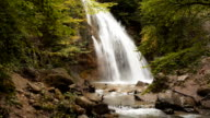Waterfall, river, mountains, nature video