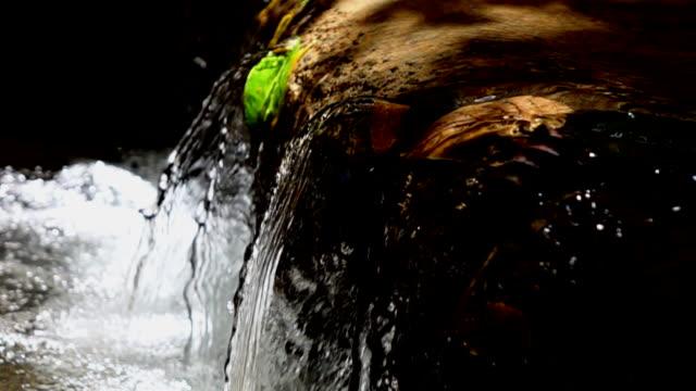 Waterfall Slow motion video