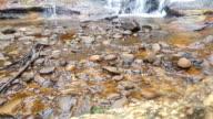 Waterfall stream and rocks, Australia video
