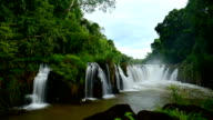 Waterfall time lapse in Pakse, Laos video
