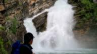 Waterfall, Waterton Glacier Park video