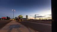 Waterloo Bridge Sunset - Time Lapse video