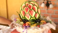 Watermelon decoration video