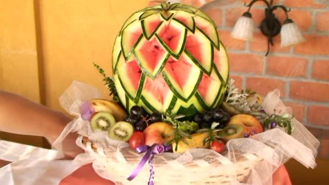 Watermelon decoration video