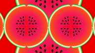 Watermelon Pattern Abstract video