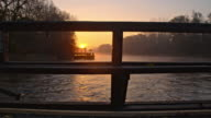 WS Watermill at sunrise video