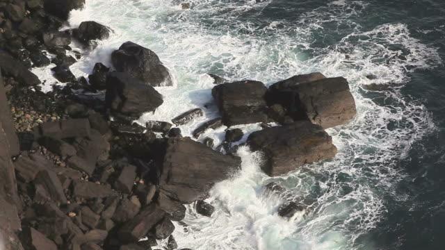 Wave smashing Coast video