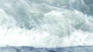 Wave splash video