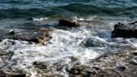 Wave splash with sound/audio video