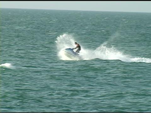 Waverunner in Ocean NTSC video