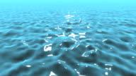 Waves and vast sea video