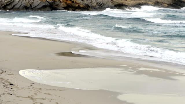 Waves at beach video