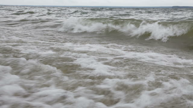 Waves Close Up video