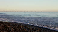 Waves on Beach III video