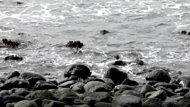 Waves on Rocks video