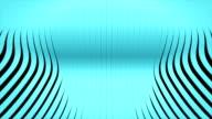 waving 3d rendered stripes video