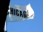 Waving Chicago Flag video