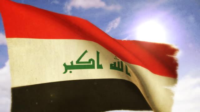Waving Flag - Iraq video