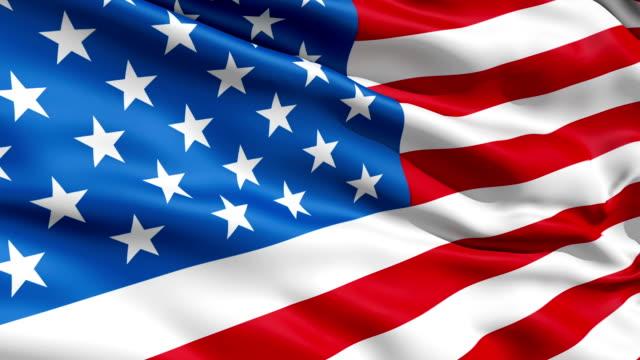 Waving Flag United States Of America video