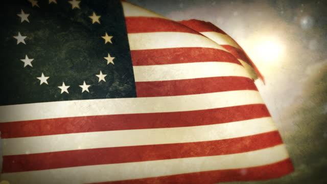Waving Flag - USA -Betsy Ross video