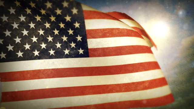 Waving Flag - U.S.A. video