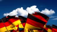 Waving German Flags video