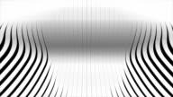 waving rendered stripes video