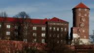Wawel Castle, Cracow, Poland, HD video