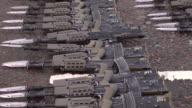 Weapons / Guns laid down - HD & PAL video