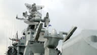 weapons of Russian warship video
