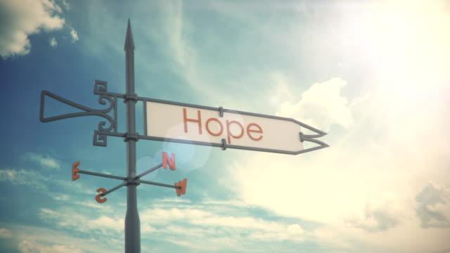 Weather vane Hope video