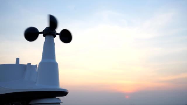 Weather vane wind gauge for direction video