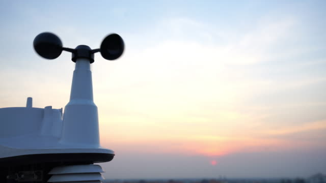 Weather vane wind gauge for direction video