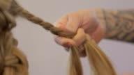 Weaving braids video