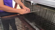 Weaving thread video