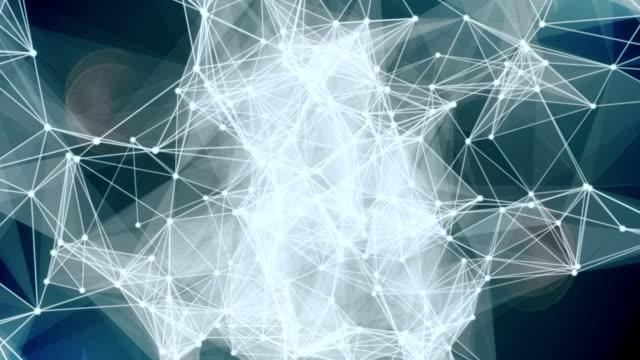 Web network video loop background video