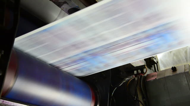 Web set offset print shop newspapers Printing Loop video
