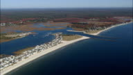 Webhannet River And Coast  - Aerial View - Maine,  York County,  United States video