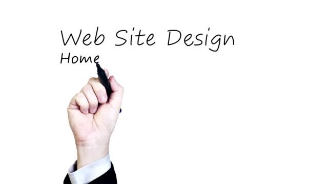 Website Design HD Video video