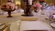 Wedding banquet hall video