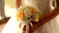 Wedding bouquet video