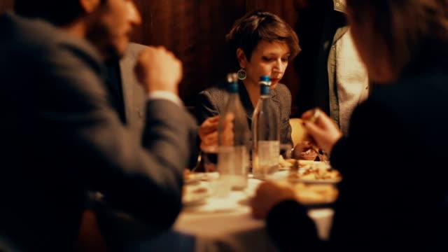 Wedding celebration event: at dinner video